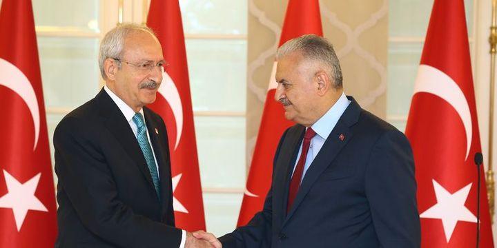 Başbakan Yıldırım Kılıçdaroğlu'yla görüşecek