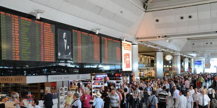 Dört havalimanı bayramda 3 milyon yolcu ağırladı