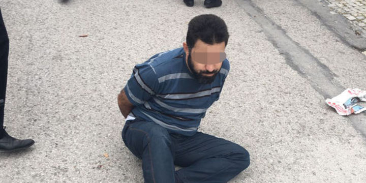 İsrail Büyükelçiliği'ne saldırı