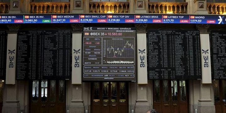 Avrupa borsaları bankalarla düştü