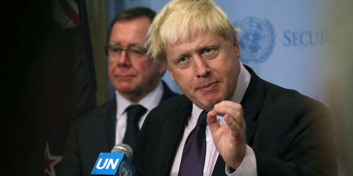 İngiltere Dışişleri Bakanı Johnson Türkiye