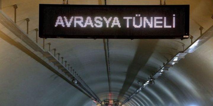 Avrasya Tüneli 20 Aralık