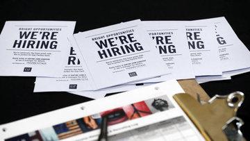 ABD'de işsizlik maaşı başvuruları beklentiden az arttı