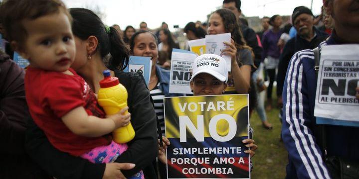 "Kolombiyalılar tarihi referandumda ""hayır"" dedi"