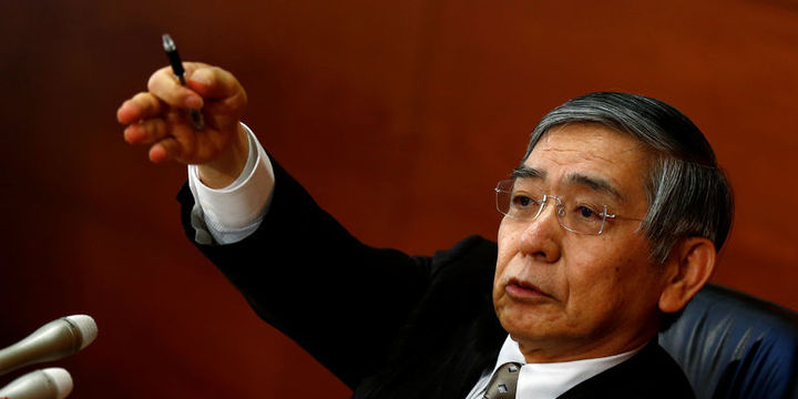 BOJ/Kuroda: Enflasyon hedefine ulaşılırsa faiz artırılır