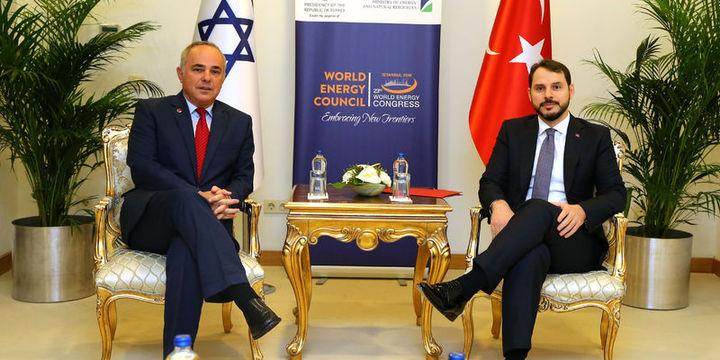 """""""İsrail gazını Türkiye"""