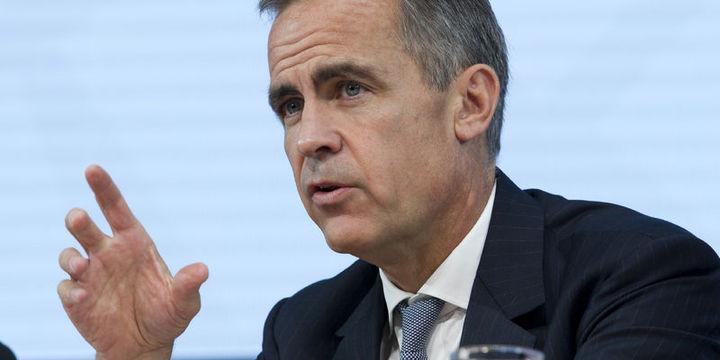 BoE/Carney: BoE, ekonomik güçlenme için enflasyon hedefini aşmayı tolere edebilir