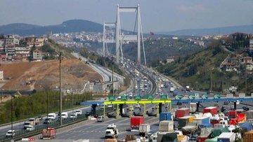 Boğaz köprülerinden kaçak geçişe 500 lira ceza