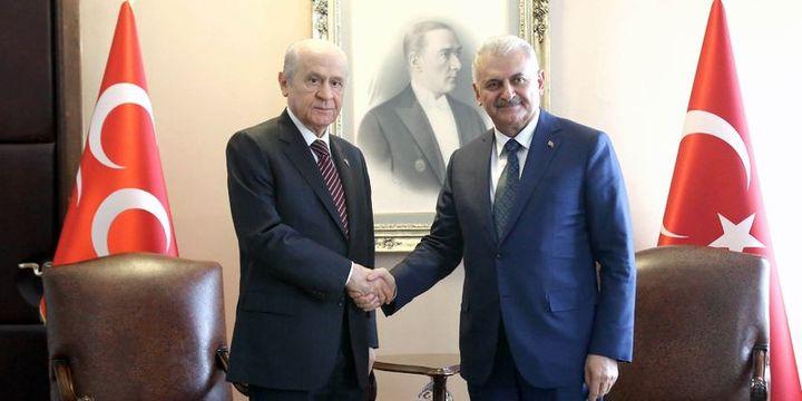 Başbakan Yıldırım ile MHP Genel Başkanı Bahçeli görüşecek