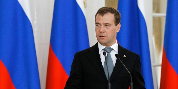 Medvedev: Rusya