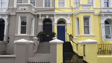 İngiltere'de konut fiyatları yüzde 8,4 yükseldi