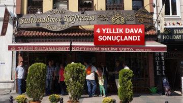 Mahkeme gerçek Sultanahmet Köftecisi'ni belirledi