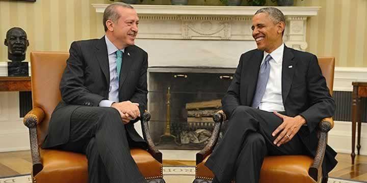 Cumhurbaşkanı Erdoğan ABD Başkanı Obama ile görüştü