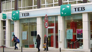 TEB'in üçüncü çeyrek net karı 286.5 milyon TL