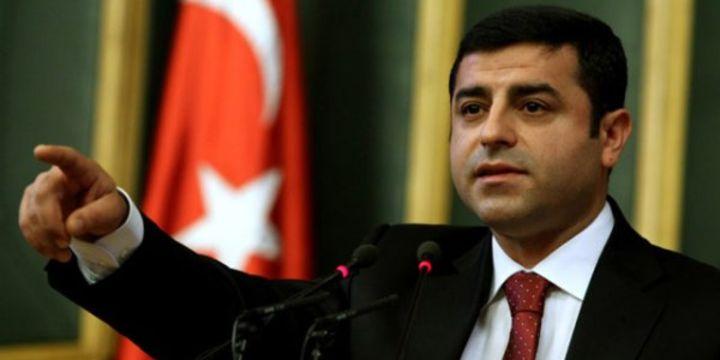 HDP Eş Genel Başkanı Demirtaş