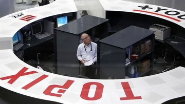 """Japonya hisseleri """"zayıf yen"""" ile yükseldi"""