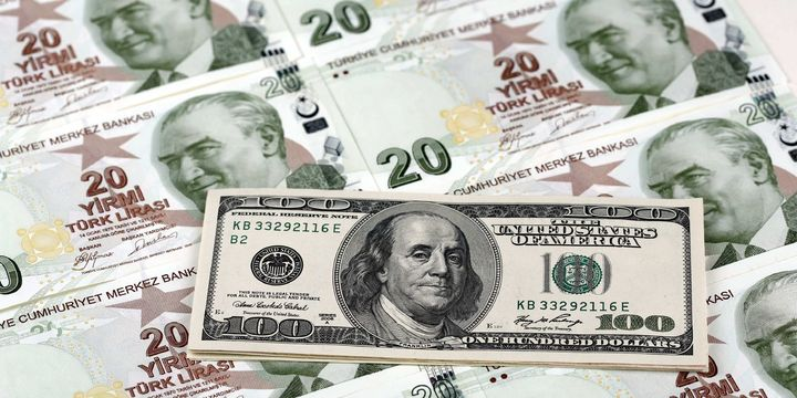 Dolar/TL ABD verisiyle 3.12
