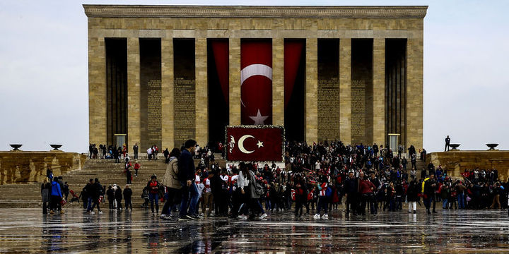 Cumhuriyet Bayramı dolayısıyla Anıtkabir