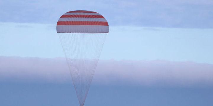 Soyuz kapsülü Dünya