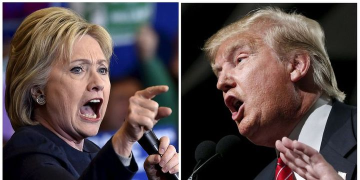 ABC/WaPo Anketi: Trump Clinton