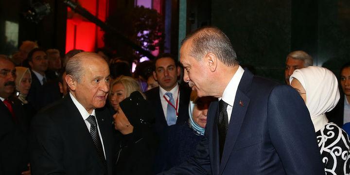 Cumhurbaşkanı Erdoğan Bahçeli