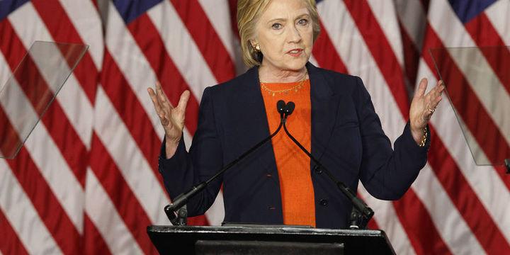 Anketlerde ibre Clinton