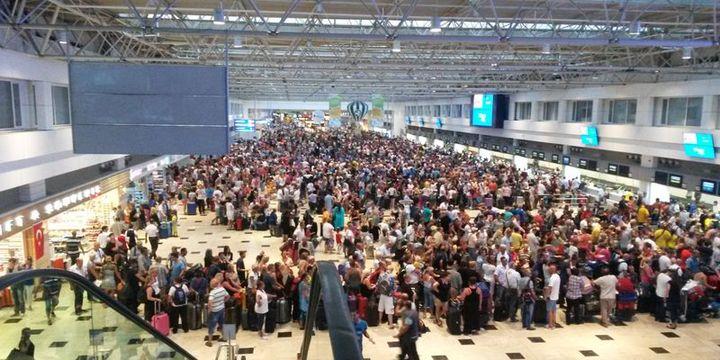 Havayolu yolcu sayısı 10 ayda 149.5 milyon oldu