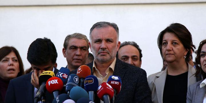 HDP, Meclis çalışmalarına katılmama kararı aldı