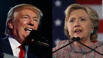 ABD'de anketler Clinton'ı gösteriyor