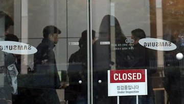 Güney Kore'de Samsung'a operasyon