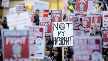 ABD'de Trump karşıtı gösteriler yapıldı