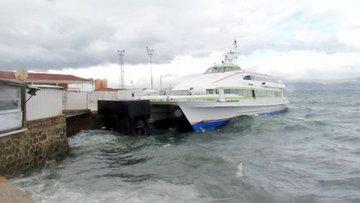 İDO ve BUDO'dan hava koşulları nedeniyle sefer iptalleri