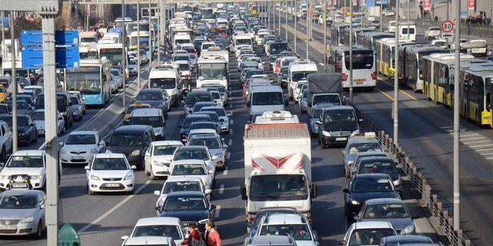 Trafiğe kayıtlı araç sayısı 20 milyon 801 bin oldu