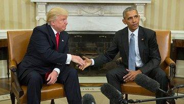 Trump, başkan seçildikten sonra ilk kez Beyaz Saray'da