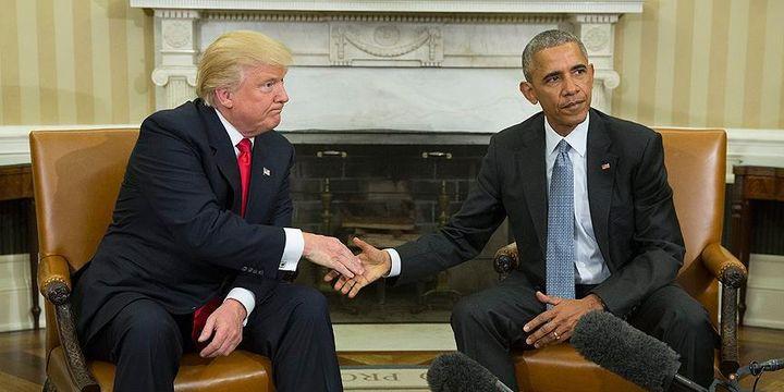 Trump, başkan seçildikten sonra ilk kez Beyaz Saray