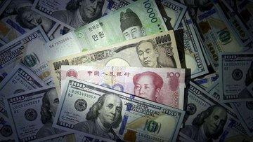 """Doların """"Trump"""" etkisiyle yükselişi Asya piyasalarında mü..."""
