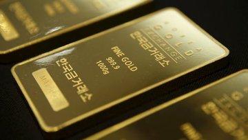 """Altın """"güçlü"""" dolar ile 5 ayın en düşüğüne geriledi"""