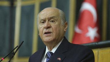 """Bahçeli: AK Parti teklifinde """"Cumhurbaşkanı"""" ifadesi geçiyor"""