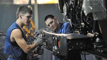 Rusya'da sanayi üretimi yüzde 0,2 geriledi