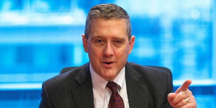 St. Louis Fed Başkanı Bullard da Aralık faiz artışına olumlu bakıyor