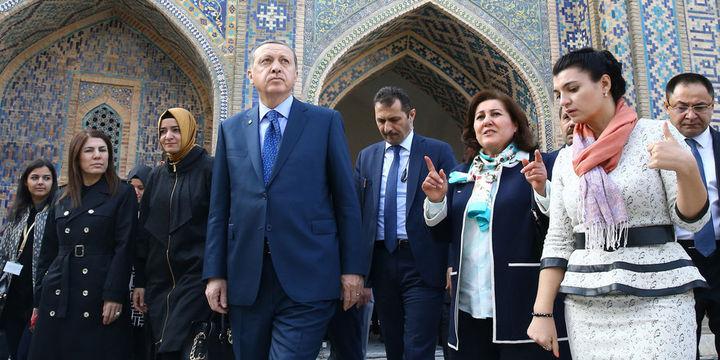 Erdoğan: Şanghay 5'lisinde daha rahat oluruz
