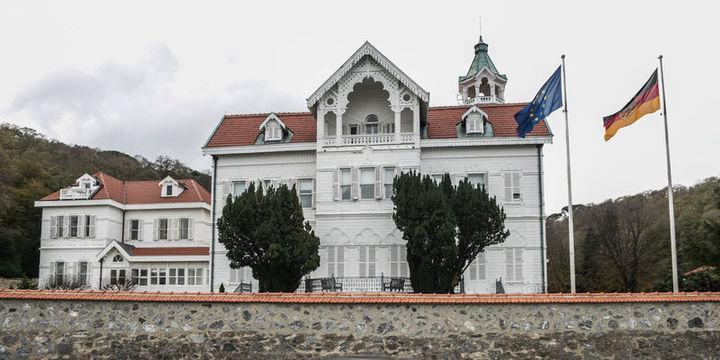 Alman Büyükelçiliği önünde şüpheli paket alarmı