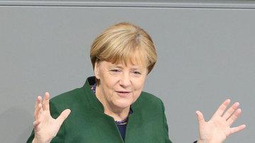 Merkel: Tüm anlaşmazlıklara rağmen Türkiye ile diyalog ko...