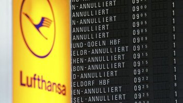Lufthansa 830 uçuşunu daha iptal etti