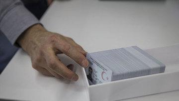 Burdur'da çiplik kartları dağıtımına başlandı