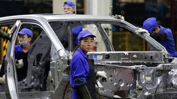 Çin'de sanayi şirketlerinin karı Ekim'de arttı