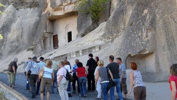Yabancı turist sayısı % 25.8 azaldı