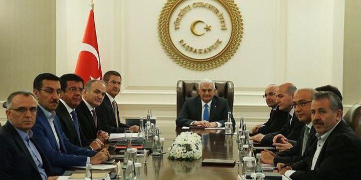 Ekonomi Koordinasyon Kurulu toplantısı başladı