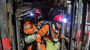 Çin'deki grizu patlaması: 32 can kaybı