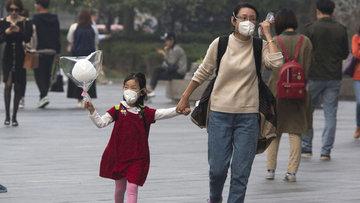 Çin'de hava kirliliği sebebiyle turuncu alarm verildi